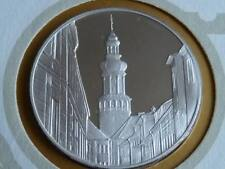 Lot 30 39mm silver proof  medal Sopron Hungary