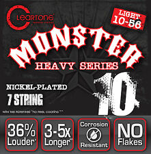 Cleartone 9410-7 Heavy Series NP Electric Guitar Strings 7-string gauges 10-56