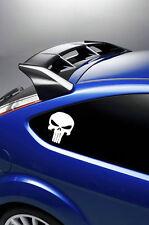 2X PUNISHER  car/laptop stickers/decals window VINYL