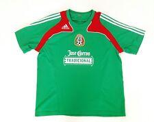 Adidas Federacion Mexicana Futbol Mexico Soccer Football Jose Cuervo Shirt Sz XL