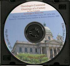 Onondaga County New York Centennial In Two Volumes + Bonus Books