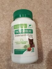NEW! Advantus - Soft Chews for dogs 4 to 22 LBS - 7.5 mg Flea Treatment - 30 ct