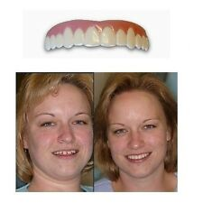 Cosmetic Teeth Fake Tooth Cover Dental False Natural Snap On Teeth Perfect Smile