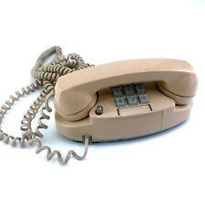 1978 Western Electric Princess 2-line Touch Tone Telephone Phone Beige  2713BM.
