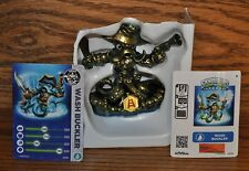 Skylanders Swap Force Color Shift Gold Metallic Wash Buckler w/ Card Sticker NEW