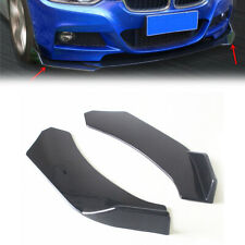 2PCS Car Front Bumper Lip Splitter Body Side Spoiler Protector Universal ABS