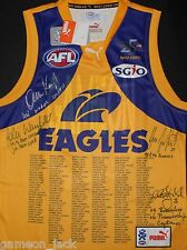 West Coast Eagles 25th Club Anniversary Signed Guernsey