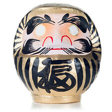Gold Japanese Daruma Doll Lucky God