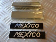 Ford Escort MK1 Mexico Pair New front wing badges