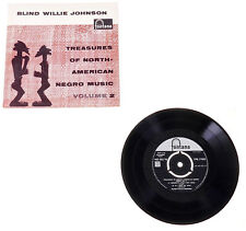 BLIND WILLIE JOHNSON Treasures Of... EP 1st PRESSING FONTANA MONO TFE 17052