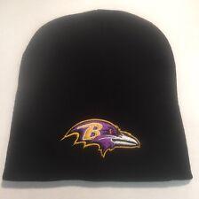Baltimore Ravens Black Beanie Winter  Hat