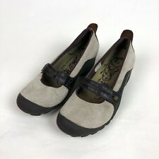 MERRELL Plaza Bandeau Mary Jane Shoes Women's Size US 9 / EUR 40 Dark Taupe