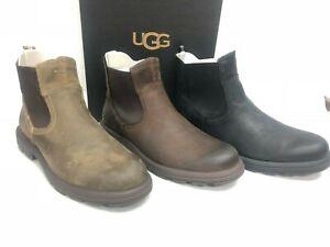 UGG Australia Men's Biltmore Chelsea Ankle Boots Waterproof Leather 1103789