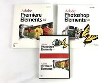 Adobe Photoshop Elements 5.0 & Premiere Elements 3.0 with User Guides