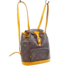 LOUIS VUITTON MONTSOURIS PM BACKPACK BAG PURSE MONOGRAM et M51137 30153