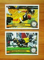 2011 Topps Pittsburgh Steelers TEAM SET NM - MINT
