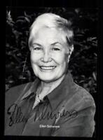Ellen Schwiers Autogrammkarte Original Signiert # BC 138591