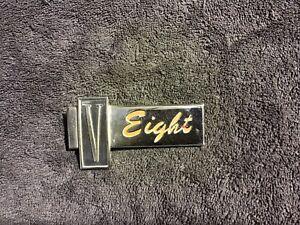 Valiant V8 Badge