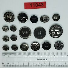 Chanel CC Buttons - Set of 18