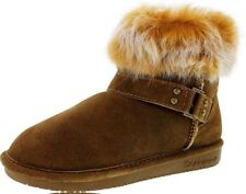 BEARPAW TIGRIS WINTER BOOTS NEW WOMEN'S SIZE 9 HICKORY