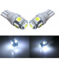 10/20pcs T10 Car LED Error Free Canbus 5 SMD Xenon White W5W 501 Side Light Bulb
