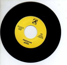 """Scoot 45 Rpm record """"Scoop"""" """"Treehouse"""" 1976 Never Played Mint Funky Novelty"""