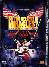 Do You Believe in Miracles, The Story of the 1980 US Hockey Team (DVD, 2002) New