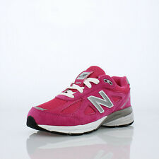 New Balance 990v4 - KJ990PEG - Hot Pink / Grey / White - Youth 6 = Women's 7.5