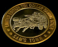.999 $10 Silver Strike • Sam's Town Hotel & Casino • Las Vegas • Stagecoach