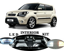 LED Package - Interior + License Plate + Vanity for Kia Soul (10 pieces)