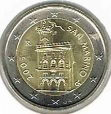 San Marino 2005 UNC 2 euro : Standaard