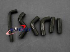 For KTM 400EXC 525EXC Radiator Silicone Black Hose kit 2002-2006 03 04 05 06