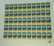 1818-1968 Illinois 6 Cent Sheet of 50 Mint