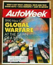 AUTOWEEK 1989 NOV 06 - NEW CORRADO, ES 250 & JAG XJ6