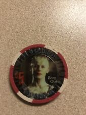 $5 hilton borg queen star trek las vegas nevada  casino chip super rare