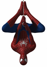 MARVEL SPIDERMAN UPSIDE DOWN  VINYL WALL STICKER VARIOUS SIZES