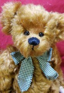 """Sheila Schuchert """"Spencer"""" artist teddy bear mohair 16"""" SS SUGAR BEARS"""