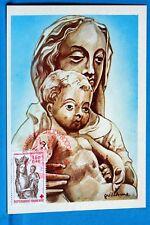 VIERGE A L ENFANT   FRANCE    CPA Carte Postale Maximum  Yt 2295 C