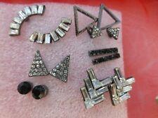 ASOS Earrings Set x 6 BNWT Cubic Zirconia Gift Boxed