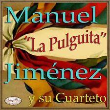 MANUEL JIMÉNEZ Y SU CUARTETO iLatina CD #42 La Pulguita Plena Porro Puerto Rico