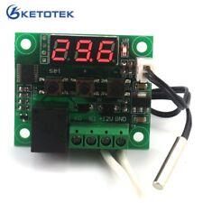 DC 12V Digital heat cool temp thermostat switch temperature controller Miniat…