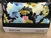 Kenneth Cole Reaction Triple Section Cosmetic Case Travel Bag - FRESH FLORAL