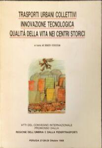 TRASPORTI URBANI COLLETTIVI  - ENZO COCCIA - 1988