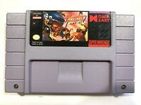 Fighter's History SUPER NINTENDO SNES GAME Tested + Working & AUTHENTIC!