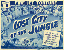 Lost City of the Jungle - Cliffhanger Serial Movie DVD Russell Hayden