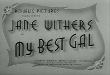 MY BEST GAL (1944) DVD JANE WITHERS, JIMMY LYDON