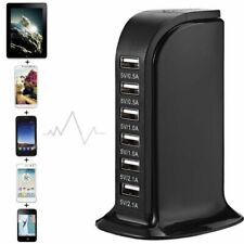 Electrical Socket USB Port Desktop Multi-Color Charger UK US AU EU Plug 100-240V