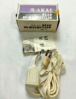 Vintage AKAI AH-6 Tape Head Demagnetizer with Box