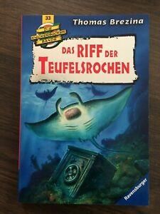 Das Riff der Teufelsrochen von Thomas Brezina- Ravensburger-UNGELESEN!
