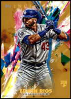 Edwin Rios 2020 Topps Inception 5x7 Gold #14 /10 Dodgers